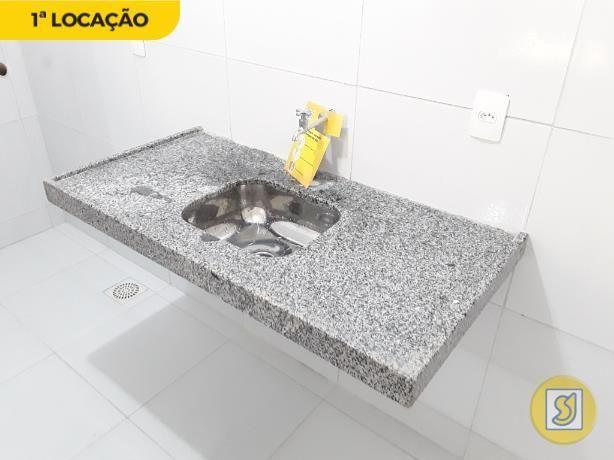 Apartamento para alugar com 1 dormitórios em Cidade dos funcionários, Fortaleza cod:50389 - Foto 4