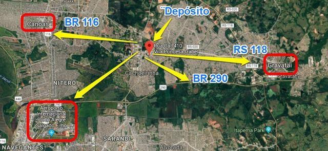 Galpão com 5.430 m²- Cachoeirinha, RS