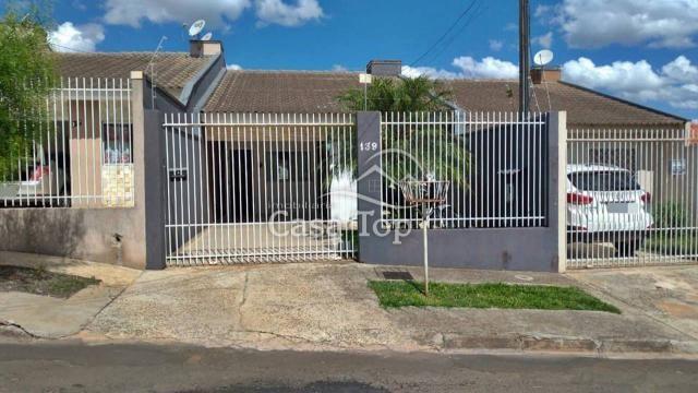 Casa à venda com 2 dormitórios em Uvaranas, Ponta grossa cod:3691