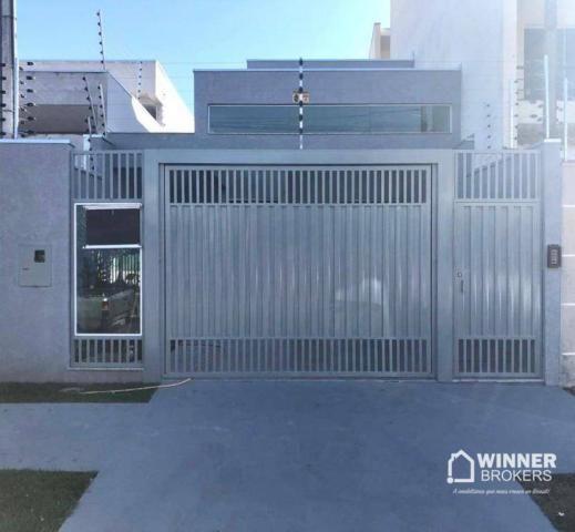 Casa com 3 dormitórios à venda, 105 m² por R$ 480.000,00 - Jardim Real - Maringá/PR - Foto 2