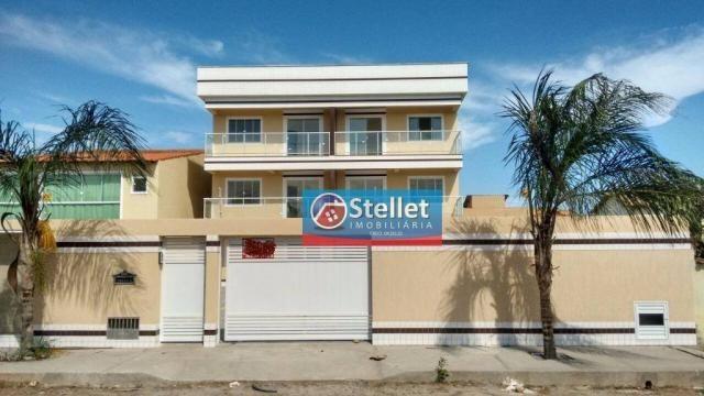 Apartamento com 2 dormitórios à venda, 70 m² por R$ 200.000,00 - Atlântica - Rio das Ostra