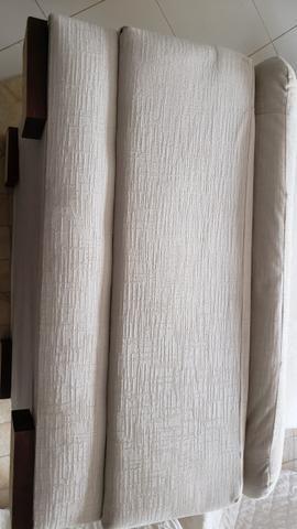 Pufes NOVOS GRANDES cor off white/creme - Foto 4