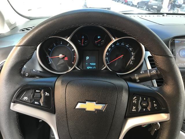 Chevrolet Cruze Sedã 2014 - GNV- IPVA 2020 ok - Automático - Banco em couro - Foto 4