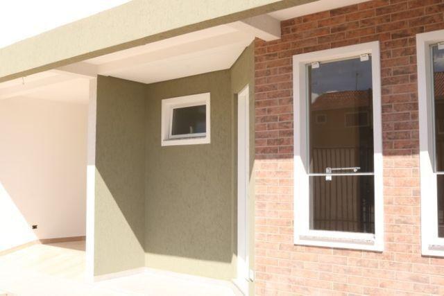 Casa com 2 dormitórios, porém com opção para 3 dorms, averbada e nova no Santa Candida - Foto 3