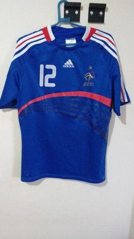 Camisa França Henry 07/08 - Foto 5
