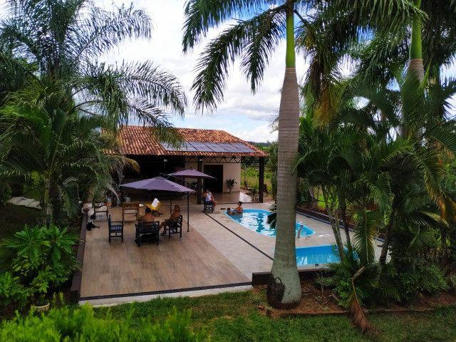 Aluga-se Chácara com piscina para seu fim de semana - Foto 19