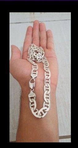 Cordão de prata  - Foto 3
