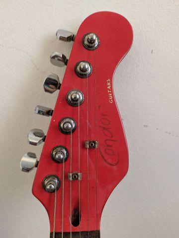 guitarra condor rx20s cm seymour duncan e malagoli - Foto 5