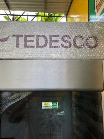 Forno turbo gás 10 telas todo inox marca tedesco- pão , padaria - qualidade total  - Foto 4