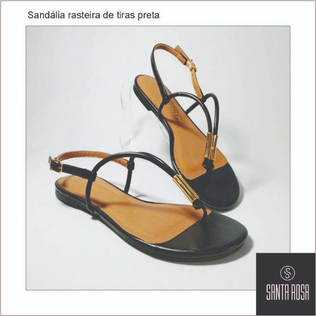 Sandália Melissa Preto N°34 e 35