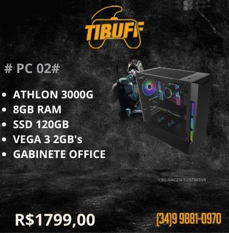 PC Gamer - Athlon 3000g - 8GB - SSD