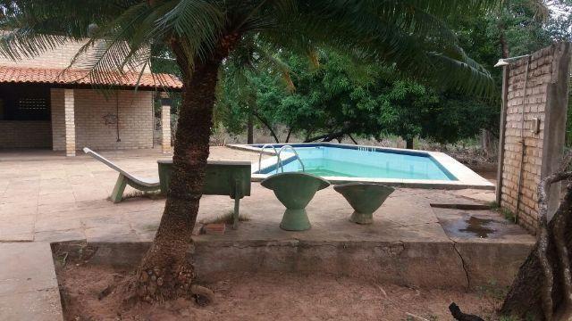 Sítio na Zona Rural de Timon a 12km de Teresina - Casa de 4 Suítes com Piscina