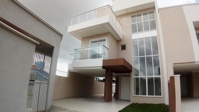 Sobrado residencial à venda, Bom Jesus, São José dos Pinhais.