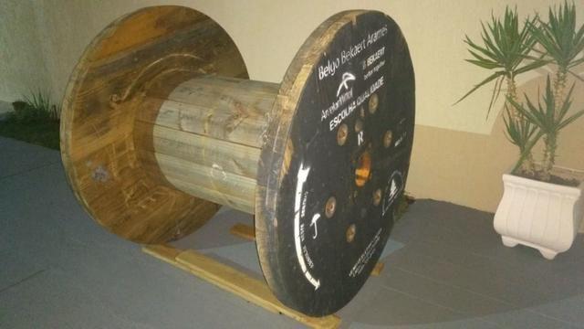 Bobina tipo Carretel Grande - 1,30m x 1,40m Pesa +- 80 kg