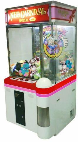 Grua Neo Carnival.Máquina de Ursinho - Fliperama