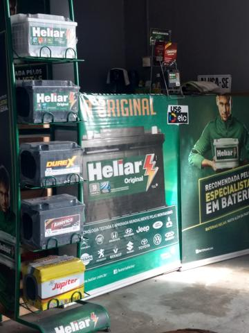 Bateria Heliar, Acdelco, Moura, América