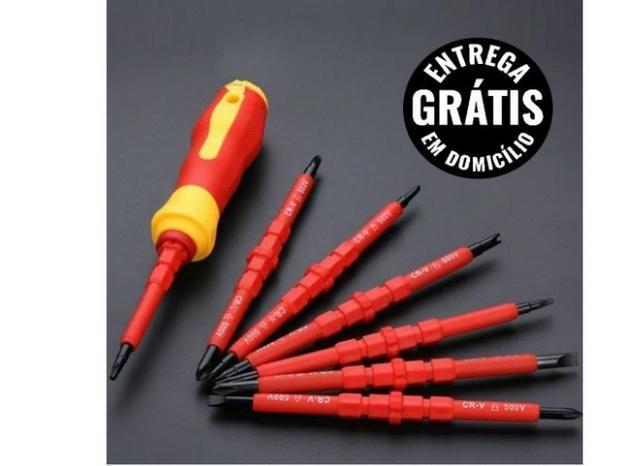 Kit 10 Chaves philips 2x100mm Isolada - entrega gratis