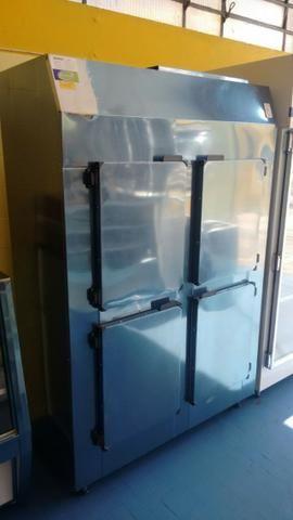 Geladeira Comercial/ 1,25 Metro/ 4 Portas - Total Inox - Refrigel Balcões -(11) 94977-3055