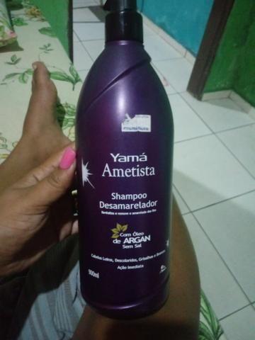 20,00 reais shampoo Yama amentista