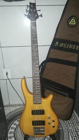 Vendo contrabaixo luthier 5 cordas