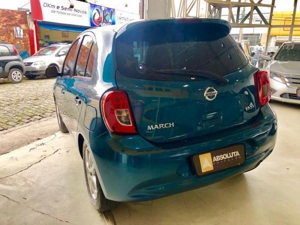 Nissan march sv 1.6 16V Flex Fuel- baixo km - Foto 4