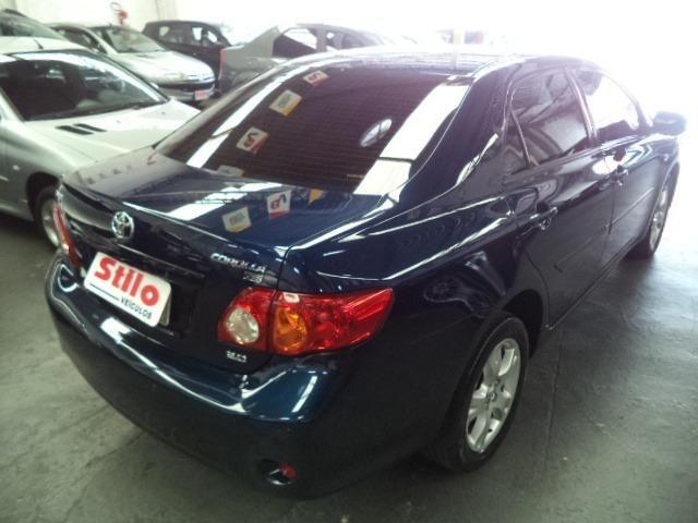 Corolla Xei 2.0 Automatico Flex 2011 Azul Completo Couro Veja!!! - Foto 10
