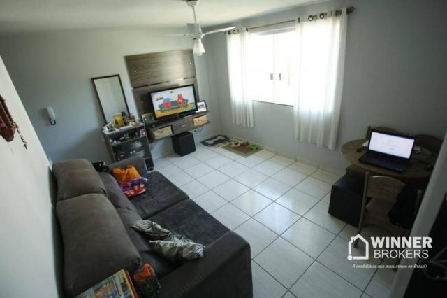 Apartamento com 2 dormitórios à venda, 53 m² por R$ 160.000,00 - Vila Bosque - Maringá/PR - Foto 6