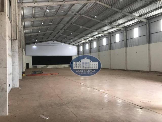 Barracão para alugar, 1500 m² por R$ 12.000,00/mês - São João - Araçatuba/SP