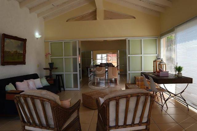 Casa com 3 dormitórios à venda, 338 m² por R$ 1.200.000,00 - Condomínio Villagio do Engenh