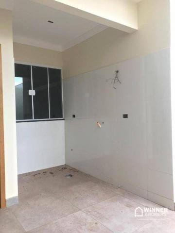Casa com 3 dormitórios à venda, 95 m² por R$ 330.000 - Parque das Grevíleas - Maringá/PR - Foto 9
