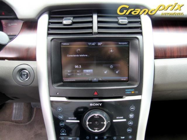 EDGE 2013 3.5 V6 GASOLINA LIMITED AWD AUTOMÁTICA BRANCA COMPLETA ÚNICO DONO! - Foto 10