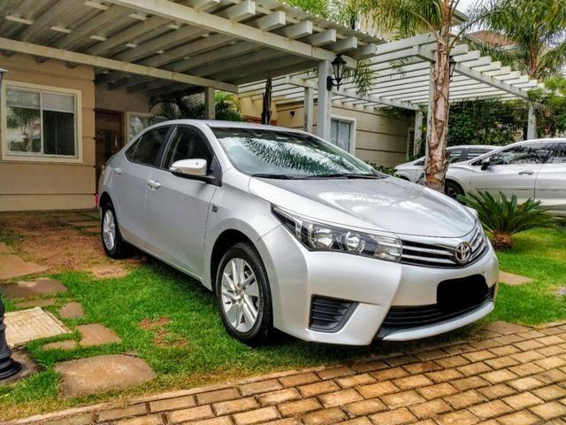 Toyota Corolla automático IPVA TOTAL PAGO - Foto 7