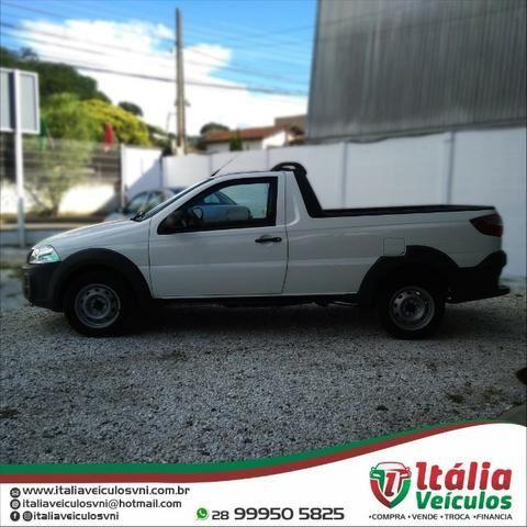 Fiat Strada 1.4 Hard Working CS 2018/19. IPVA 2020 Pago - Foto 3