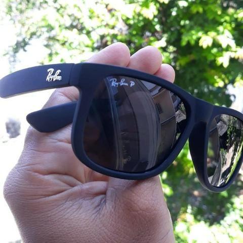 Promoção Óculos de Sol Polarizado RayBan Justin