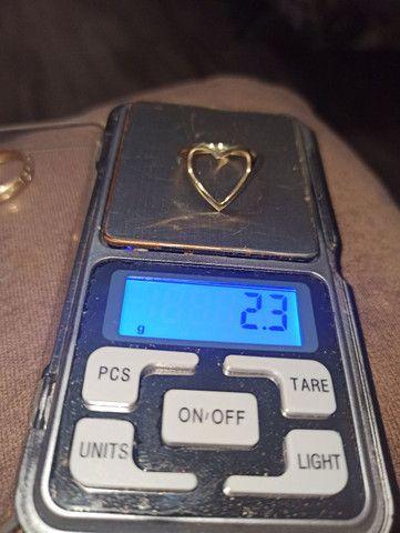 Anéis em ouro 10k (416) R$ 235.00 a grama