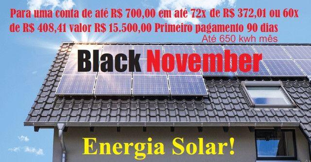 Energia Solar Black November