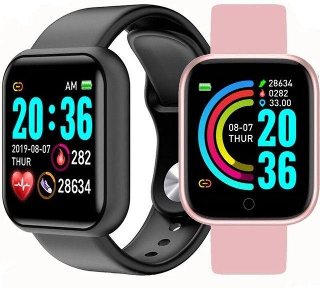 Smartwatch Relógio Inteligente Y68 novo - Foto 2