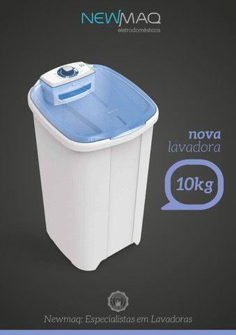 Lavadora de Roupas Newmaq 10Kg - Semanaço de Oferta - Foto 4