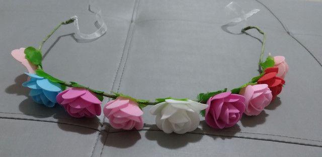 Tiara de flores  - Foto 2