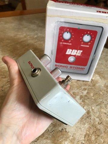 Pedal BBE sonic stomp maximizer (equalizador, compressor) - Foto 2