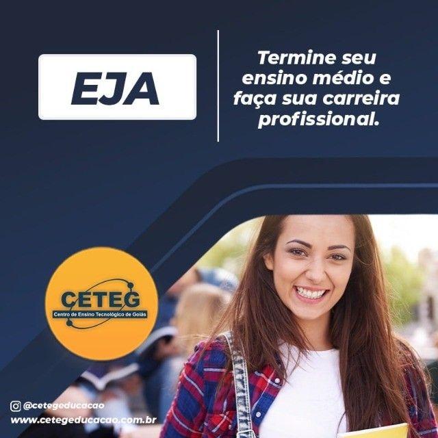 Ceteg - Eja - Educação de Jovens e Adultos  - Supletivo - Foto 2