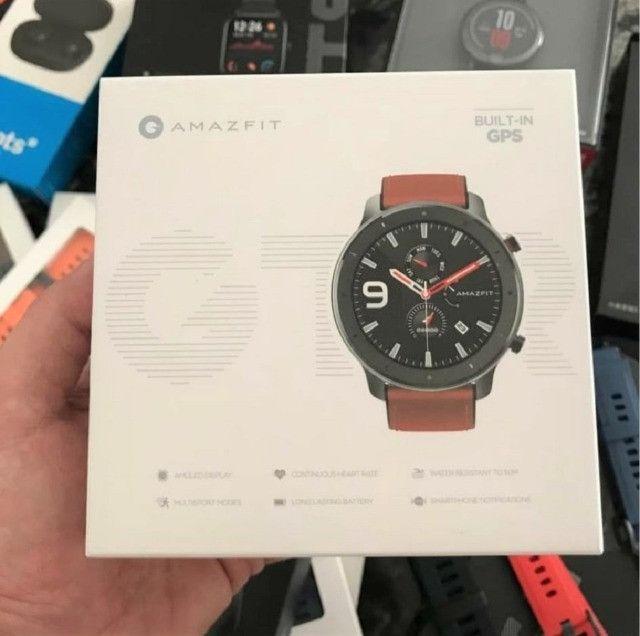 Oferta!! Relógio Smartwatch Xiaomi Amazfit GTR Original GPS Global C/ Garantia Em Até 18x