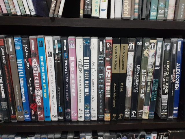 DVD's Musicais Originais (Acervo de Colecionador)