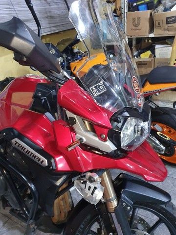 Triumph tiger 1200 Explorer 2015 quitada e liberada