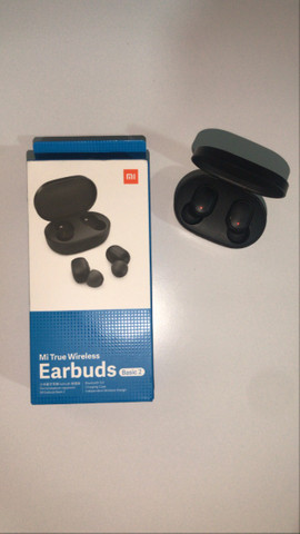 Super Promoção Fone de ouvido bluetooth Redmi Airdots 2 Lançamento, Original e Novo - Foto 4