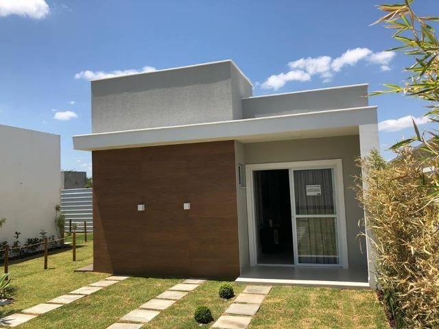 Casa 2 Suites em Condomínio Fechado no Bairro do SIM - (75) 99231-6865