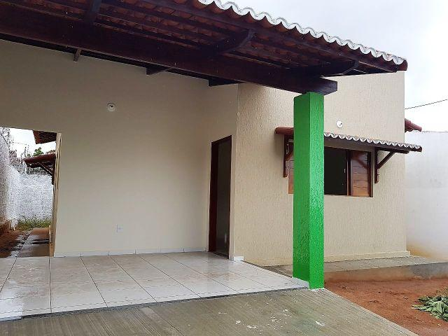 2/4 Moderna e ampla Casa Nova Cajupiranga. Ótima localização.R calçada