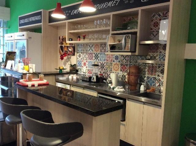 Cozinha montada MDF