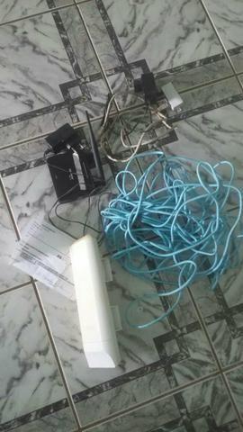 Kit antena e acessórios de internet Porto Velho