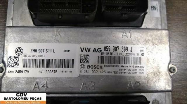 Modulo De Injeção Vw Amarok V6 Diesel 2018 - Foto 2